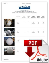 Spherical-Buoys-Table-Rasmussen-Lifting-Rigging-Marine-Equipment-Supplies