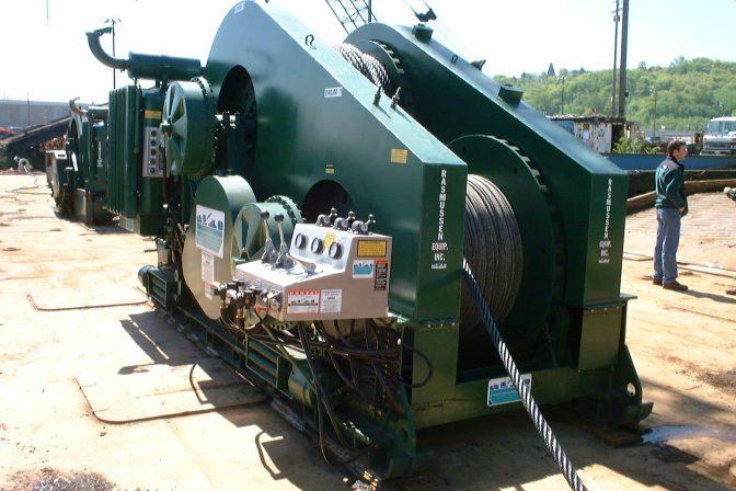 Diesel Mechanical Winches • RASMUSSEN Equipment Co [Seattle WA]