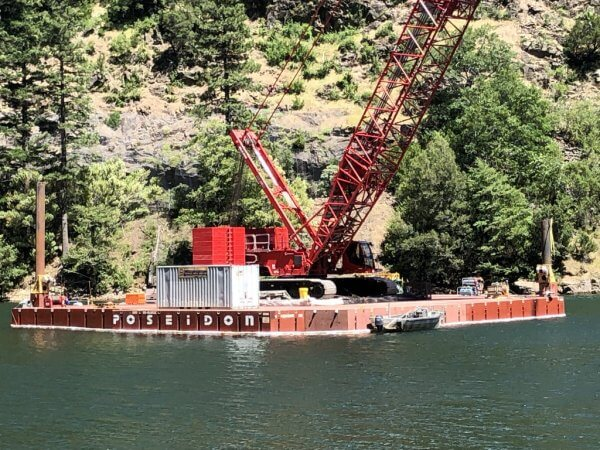 Used Sectional Barges for Sale Rent • Shugart Barges